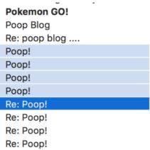 Re: Poop!